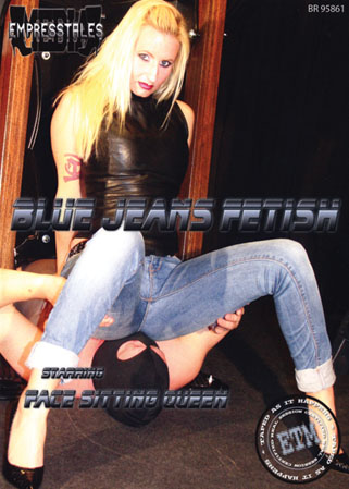 Blue jeans fetish DVD 8 face-sittings en jeans avec des CBT