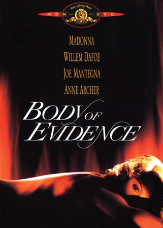 Body of evidence DVD Madonna dominatrice SM