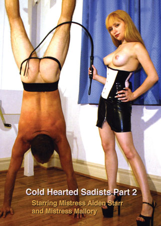 Cold hearted sadists part 2 - Homme fess� par 2 Ma�tresses