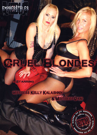 Cruel blondes DVD 2 Maîtresses blondes punissent les sexes