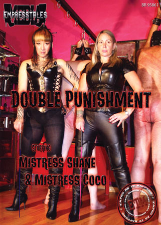 Double punishment DVD 5 séances SM en duo de Maîtresses