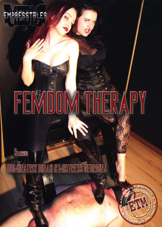 Femdom therapy DVD Homme fist� par 2 Ma�tresses enculeuses