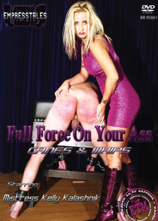 Full force on your ass - Belle Maîtresse fouetteuse d'hommes