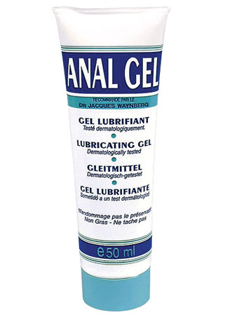 Gel lubrifiant Anal gel - Transparent - 50 ml