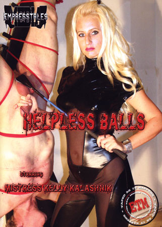Helpless balls DVD Punitions des couilles et supplice de la bite