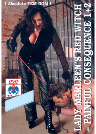 Lady Marleen's red witch DVD Maîtresse fouetteuse d'hommes