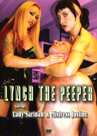 Lynch the peeper - Ma�tresse Justine jeune dominatrice gothique