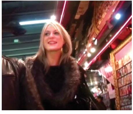 sexe dans un sex shop