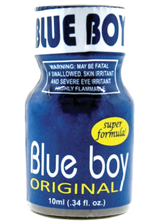 Poppers Blue Boy - Poppers gay de qualité pas cher à Nantes