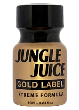 Poppers Jungle juice Gold label formule extrême super forte