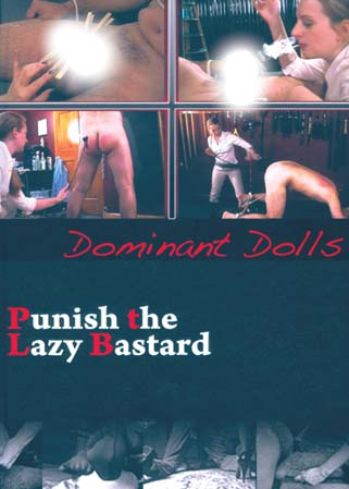 Punish the lazy bastard - Rare masturbation punitive d'un soumis