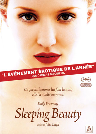 Sleeping beauty DVD Festival de Cannes Sélection officielle