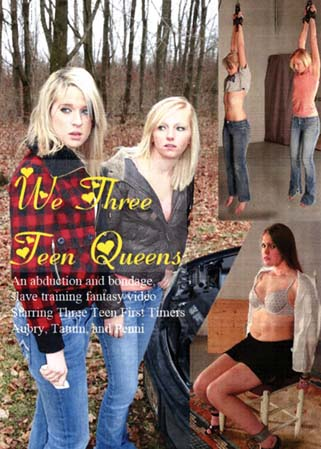 We three teen queens - 3 jeunes �tudiantes soumises et humili�es