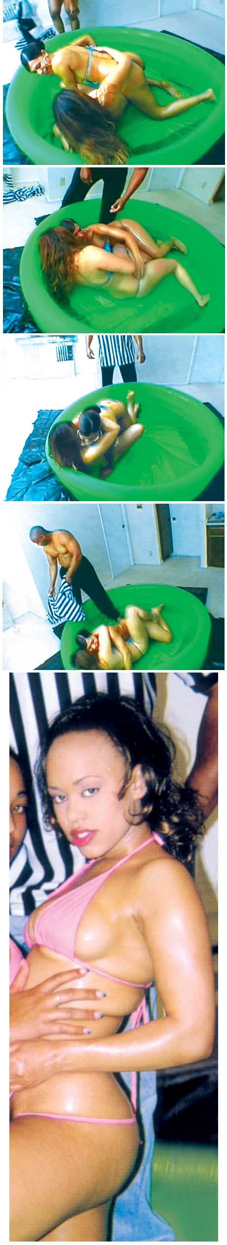 Combat De Lutte Feminine Nue Belles Femmes Nues Photos