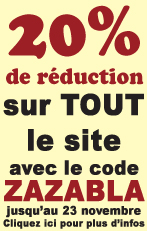 Super reduction sur tous nos articles