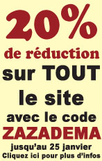 Super REDUCTION sur TOUT le site