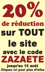 Super REDUCTION pendant les vacances