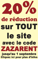 Super promotion pour la rentree