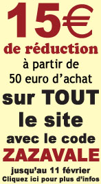 Reduction de 15 euro pour la Saint Valentin